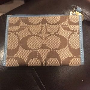 Coach mini money wallet